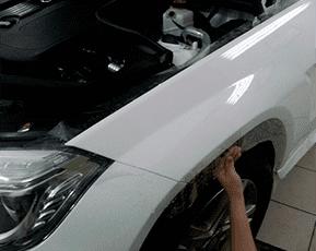 Бронирование крыльев авто
