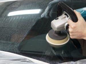 отполировать стекло машины в Минске